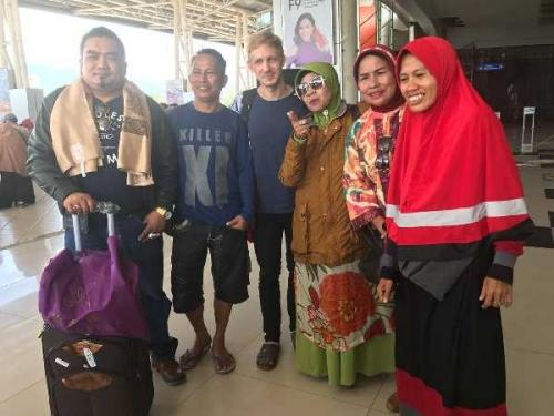 Pengurus Forum Pemred Riau, APSI dan KPJ Turun ke Palu