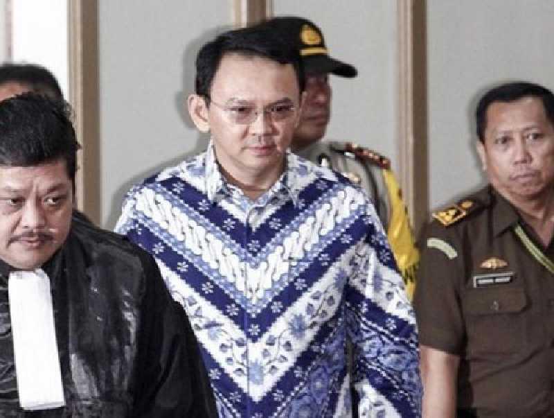 Divonis 2 Tahun, Ahok Langsung Ditahan di Rutan Cipinang
