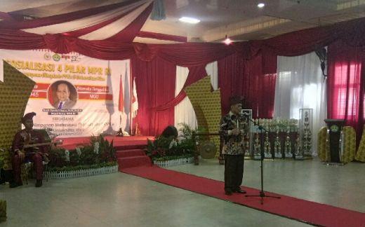 Wakil Ketua MPR RI Syarief Hasan Buka Sosialisasi Empat Pilar MPR RI di UNRI