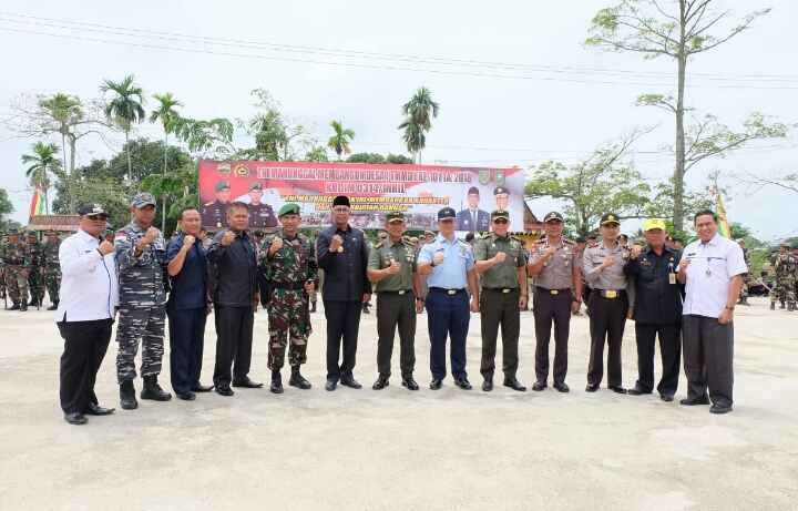 TMMD Kodim 0314 Inhil ke 101, Pj Bupati Inhil: Ini Wujud Nyata Partisipasi TNI dalam Pembangunan