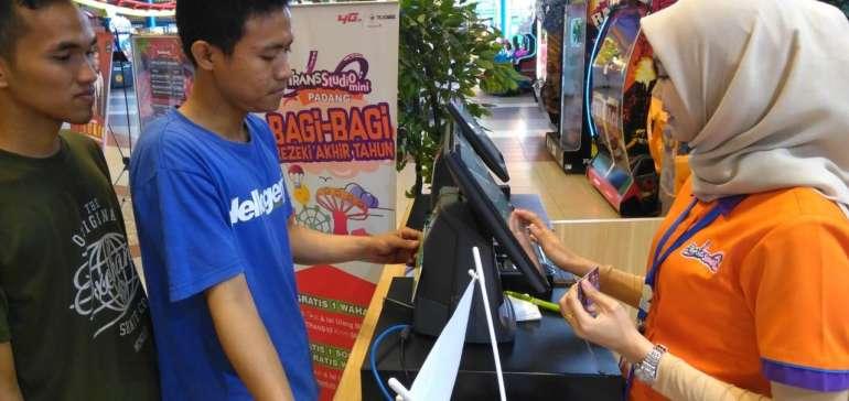 Tukar Telkomsel POIN GRATIS Wahana Permainan Trans Studio Mini Padang