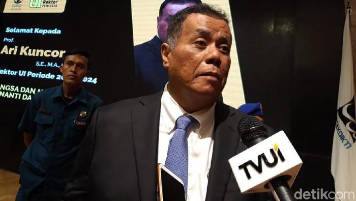 Rektor UI Ari Kuncoro Mundur dari Posisi Wakil Komisaris Utama BRI
