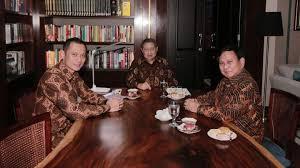 Usai Bertemu SBY, Prabowo Gelar Pertemuan Tertutup di Hambalang
