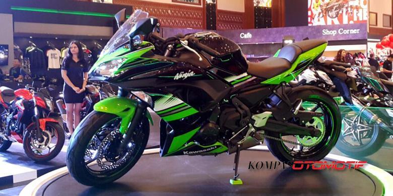 Kawasaki Ninja 650 Sasis Baru Siap Diajak