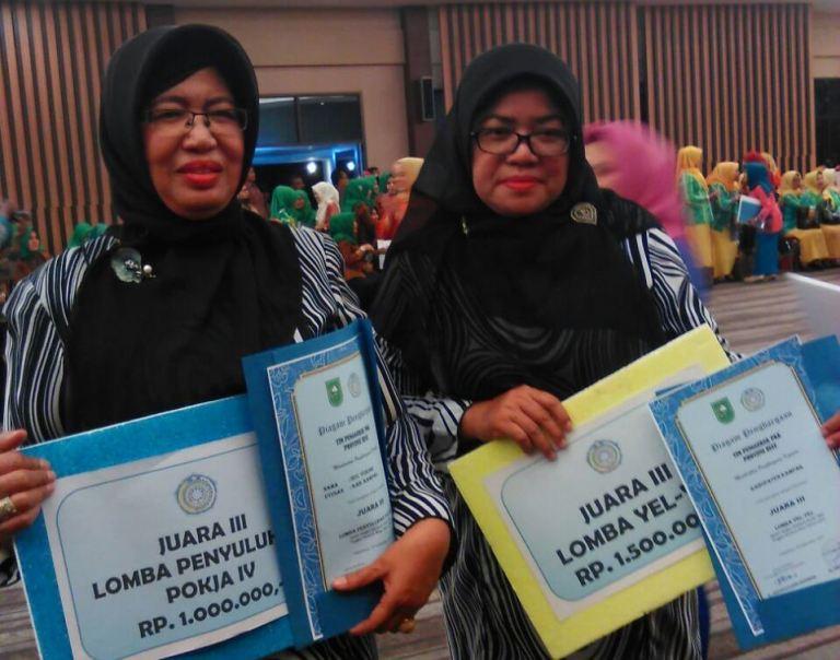 Kampar Sabet Dua Juara  Jambore PKK Provinsi Riau 2017