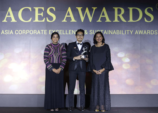 Upaya SHARP Indonesia Diakui Internasional  Lewat ACES Awards 2018