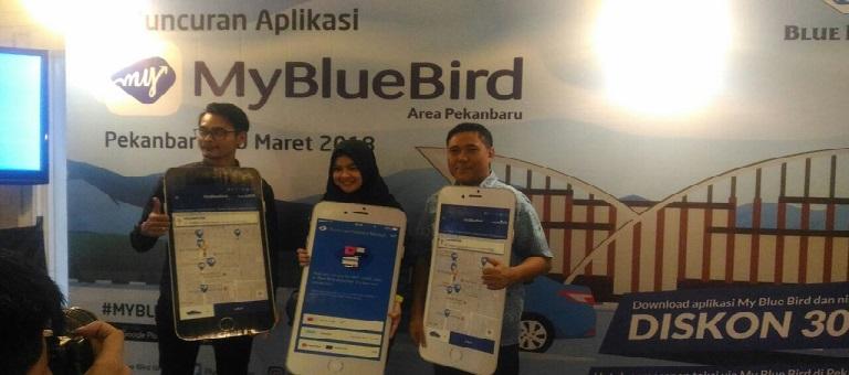 Blue Bird Resmi Luncurkan Aplikasi