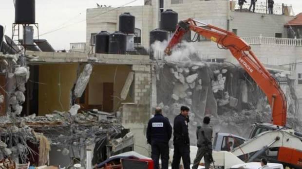 Israel Kembali Robohkan Rumah, Nasib Warga Palestina Makin Merana