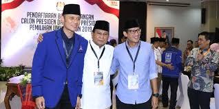Djoko Santoso Ingin Bersama AHY Pimpin Tim Pemenangan Prabowo-Sandi