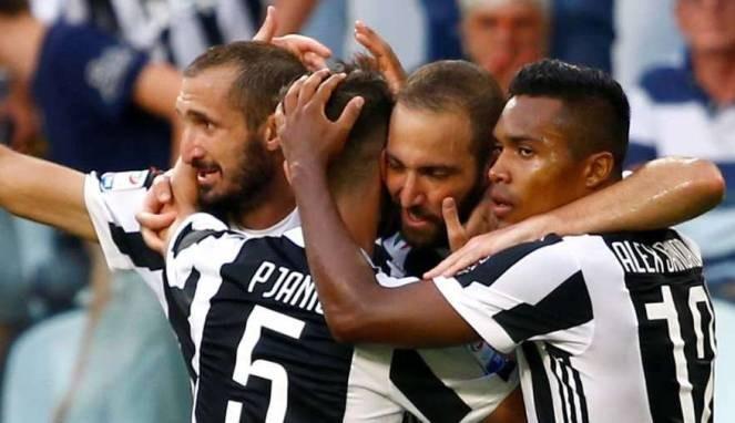 Hajar SPAL, Juventus Tempel Pemuncak Klasemen Serie A