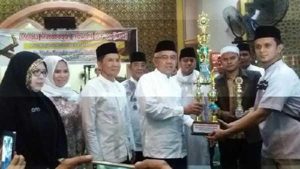 MTQ Perdana Antar Masjid di Masjid Darul Abrar DPRD Riau Sukses