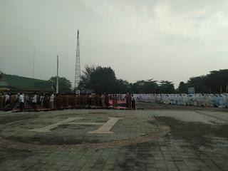 HM. Wardan Ajak Masyarakat Laksanakan Sholat Istisqo