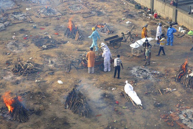 India Bantah Kematian Akibat Covid-19 Mencapai Jutaan Orang