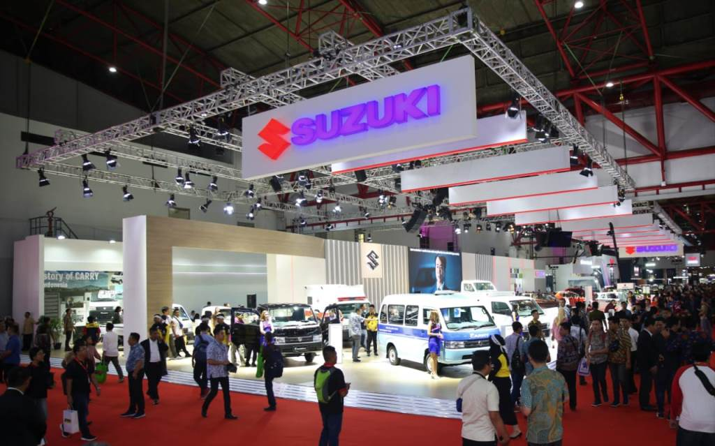 All New Ertiga dan New Carry Pick Up Dongkrak  Penjualan Suzuki Selama IIMS 2019
