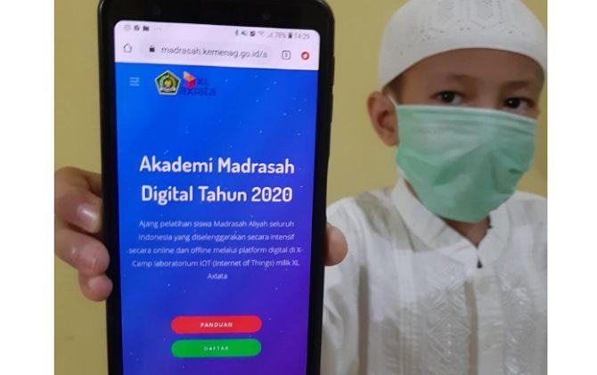 "XL Axiata – Kemenag Luncurkan ""Akademi Madrasah Digital 2020"""