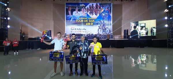 Bupati Gelar Closing Ceremony Tour De Siak ke VII 2019,