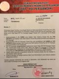 DPP PDIP Benarkan SK Usung M Harris-Yopi Ariyanto di Pilgubri 2018